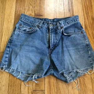Lucky Brand High Waisted Shorts
